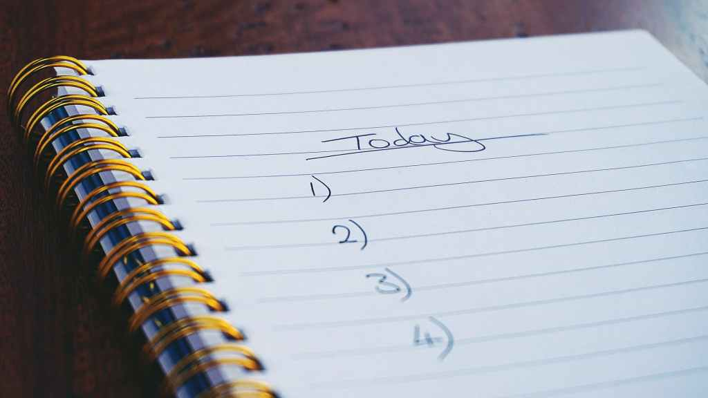 Make a list of topics that you like to write in your blog.